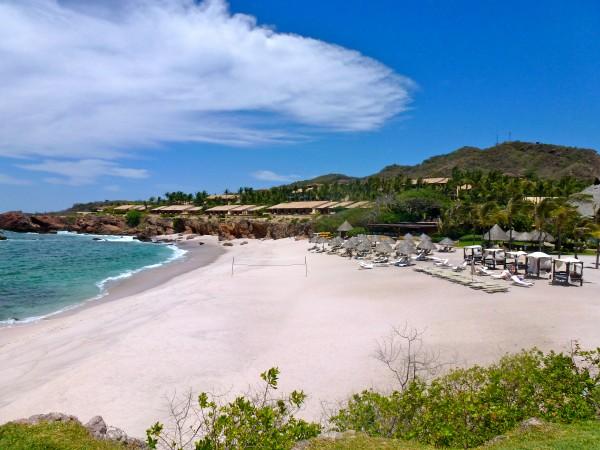 Beach at Four Seasons Punta Mita