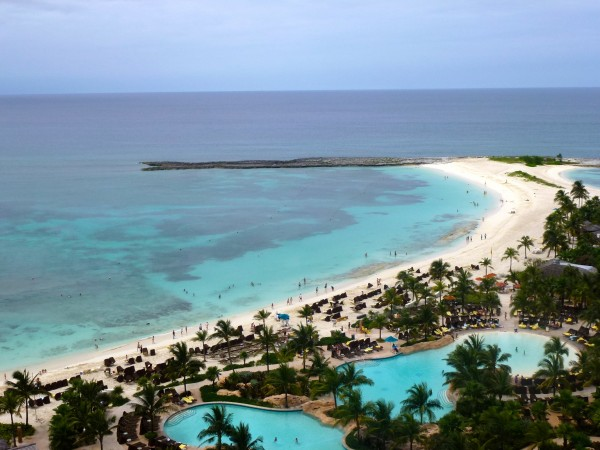 View from an Oceanview Suite at The Reef Atlantis