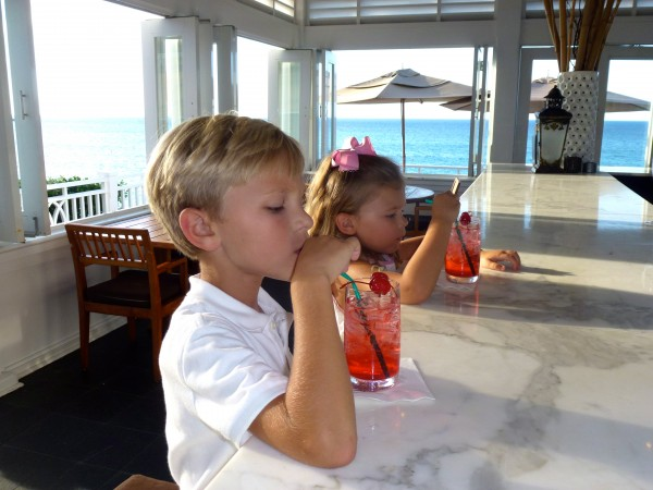 Child bliss at One & Only Ocean Club