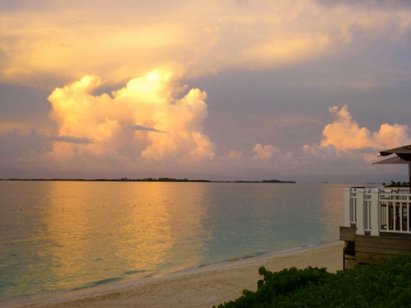 The end of another picture perfect day at One & Only Ocean Club