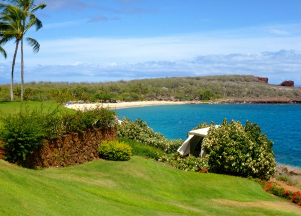 View from our Oceanfront Suite at Four Seasons Manele Bay