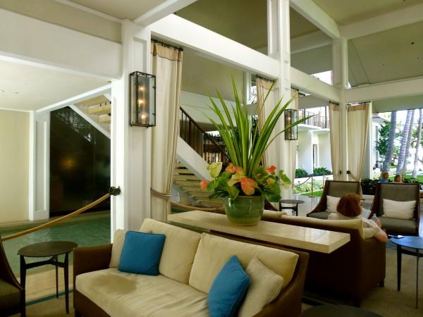 Lobby at Halekulani