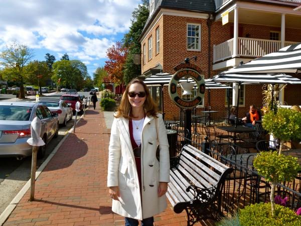 Enjoying Middleburg, VA, home of Salamander Resort and Spa