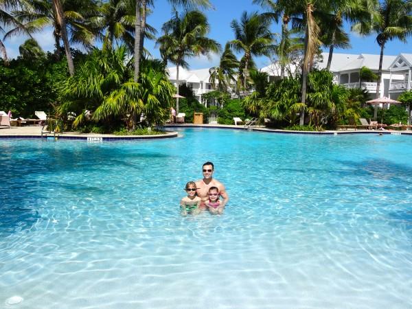 Lagoon pool at Tranquility Bay Resort