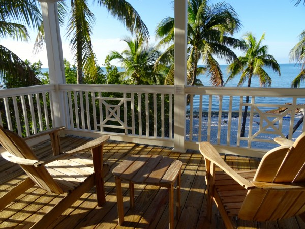 View from a Beach House at Tranquility Bay Resort