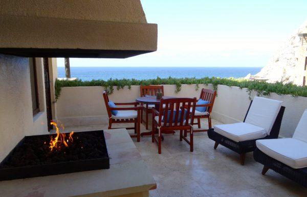 Outdoor terrace of a Capella Suite