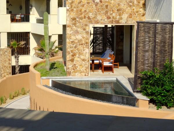 Plunge pool at Capella Pedregal