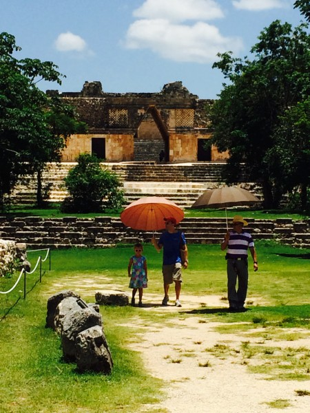The ruins of Uxmal