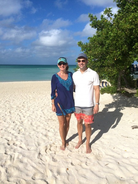 Ritz-Carlton Aruba beach