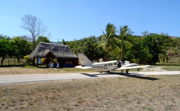 Magical arrival at Punta Islita