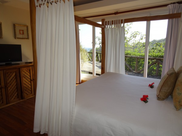 Master Bedroom, Two Bedroom Garden Villa at Hotel Punta Islita
