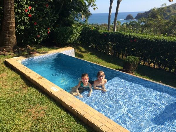 Private pool at Punta Islita