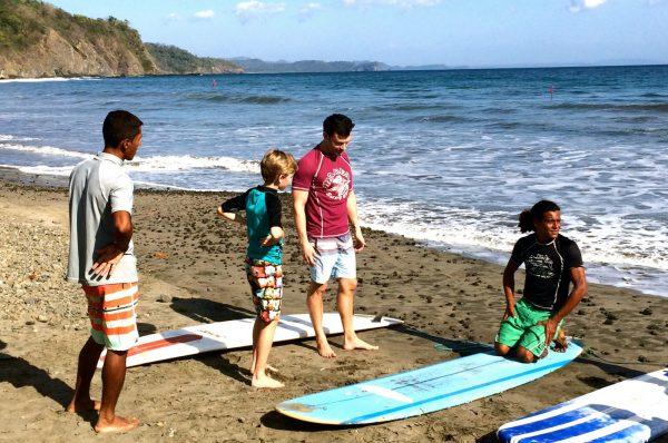 Punta Islita surfing lessons