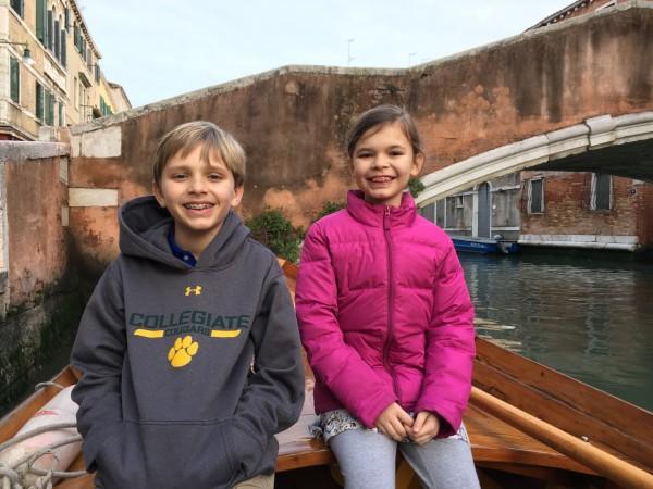 Rowing lessons in Venezia