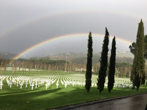 American cemetery in Florence