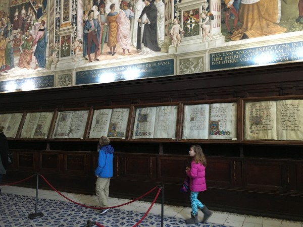 Touring the Cathedral of Siena