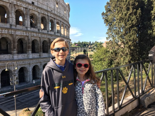 Tour of the Colosseum, Roma