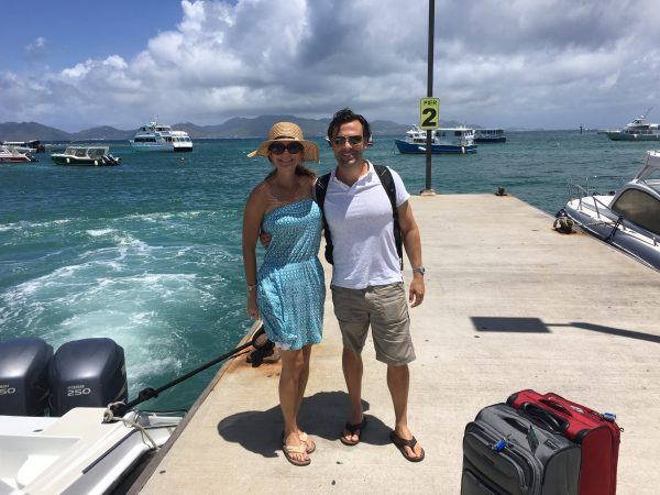 Boat transfer from St. Martin to Anguilla