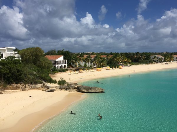 Meads Bay on the island of Anguilla