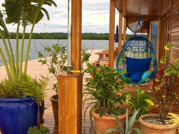 Deck at Sweet Bocas Villa, Panama