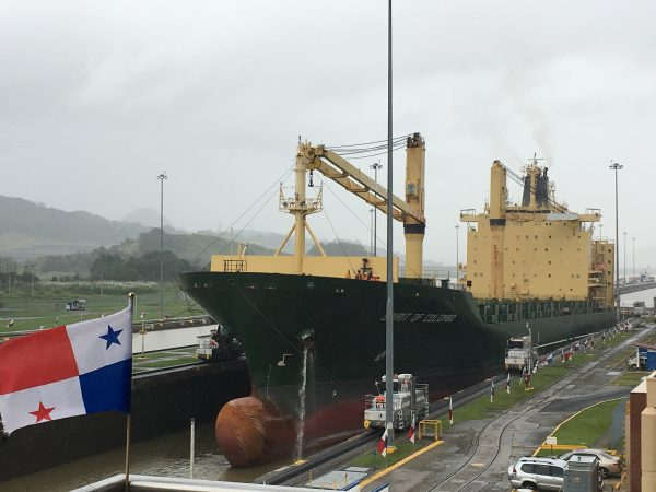 At the Panama Canal