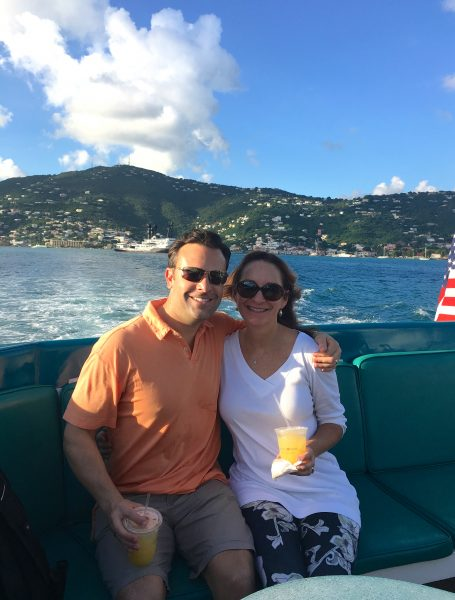 Ferry ride to Caneel Bay