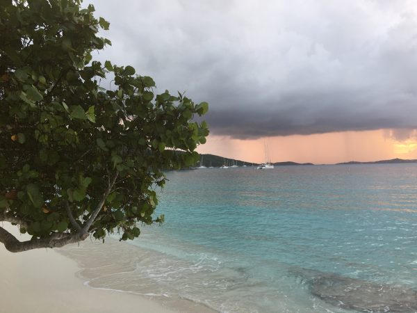 The sunsets are breathtaking at Caneel Bay