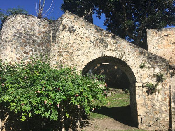 Sugar mill ruins at Caneel Bay
