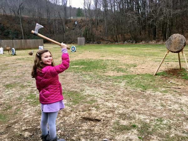 Ready for some tomahawk throwing at Primland Resort