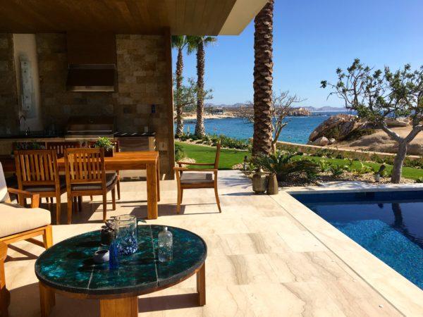 Residence patio at Chileno Bay