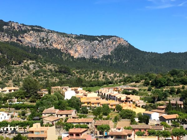 In the countryside of Mallorca Island, Spain