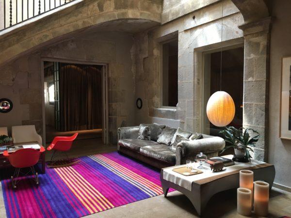 At the Hotel Neri in Barcelona