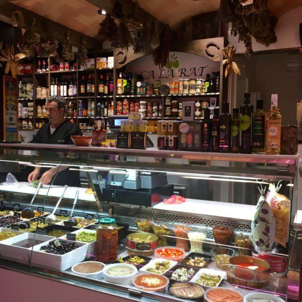 Barcelona local market