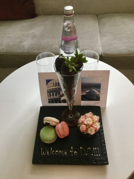 A warm welcome at the Four Seasons Washington, D.C.