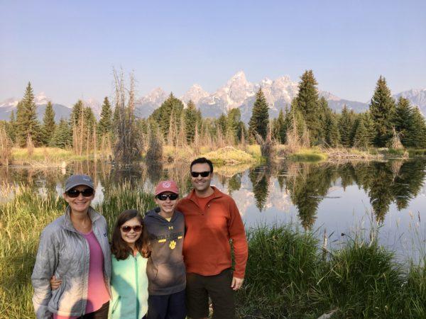 Enjoying Grand Teton National Park, Wyoming