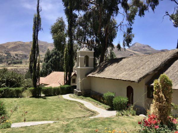 Grounds at Belmond Las Casitas, Colca Canyon