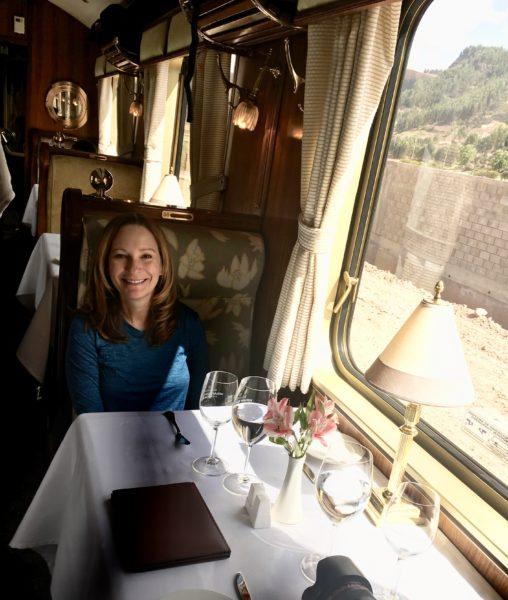 A ride on the luxury train the Belmond Hiram Bingham