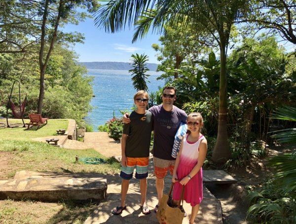 At Laguna de Apoyo, Nicaragua