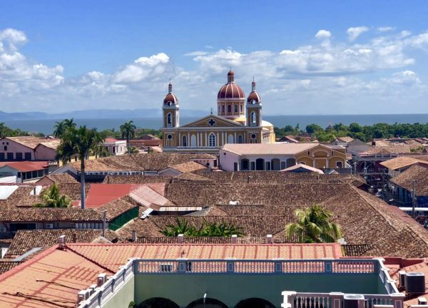 Stunning view of Granada, Nicaragua