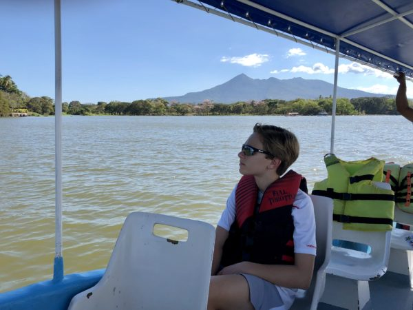Lake Nicaragua boat cruise