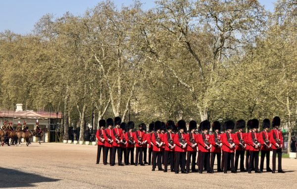 Behind the scenes at Changing of the Guard