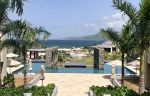 Adults pool at the Park Hyatt St. Kitts