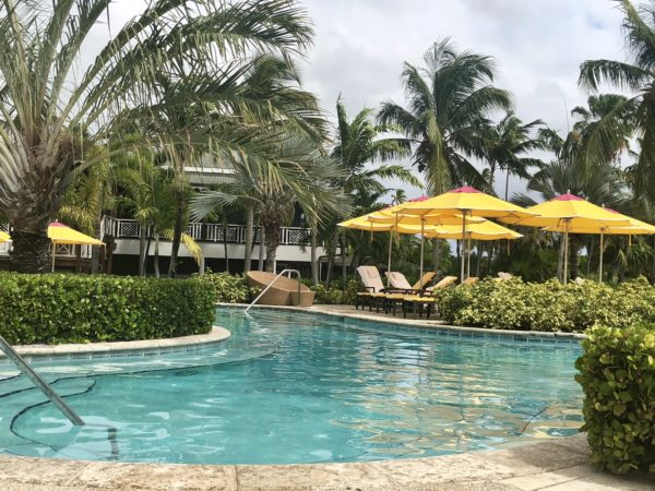 Pool at the Four Seasons Nevis