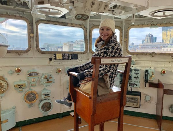 Exclusive access to the HMS Belfast through Noteworthy