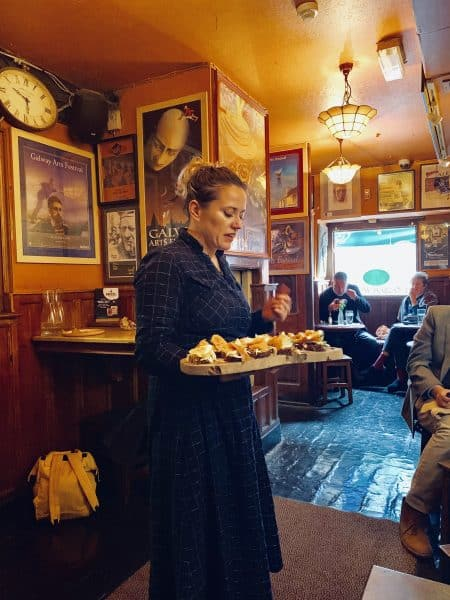 Food tour in Galway