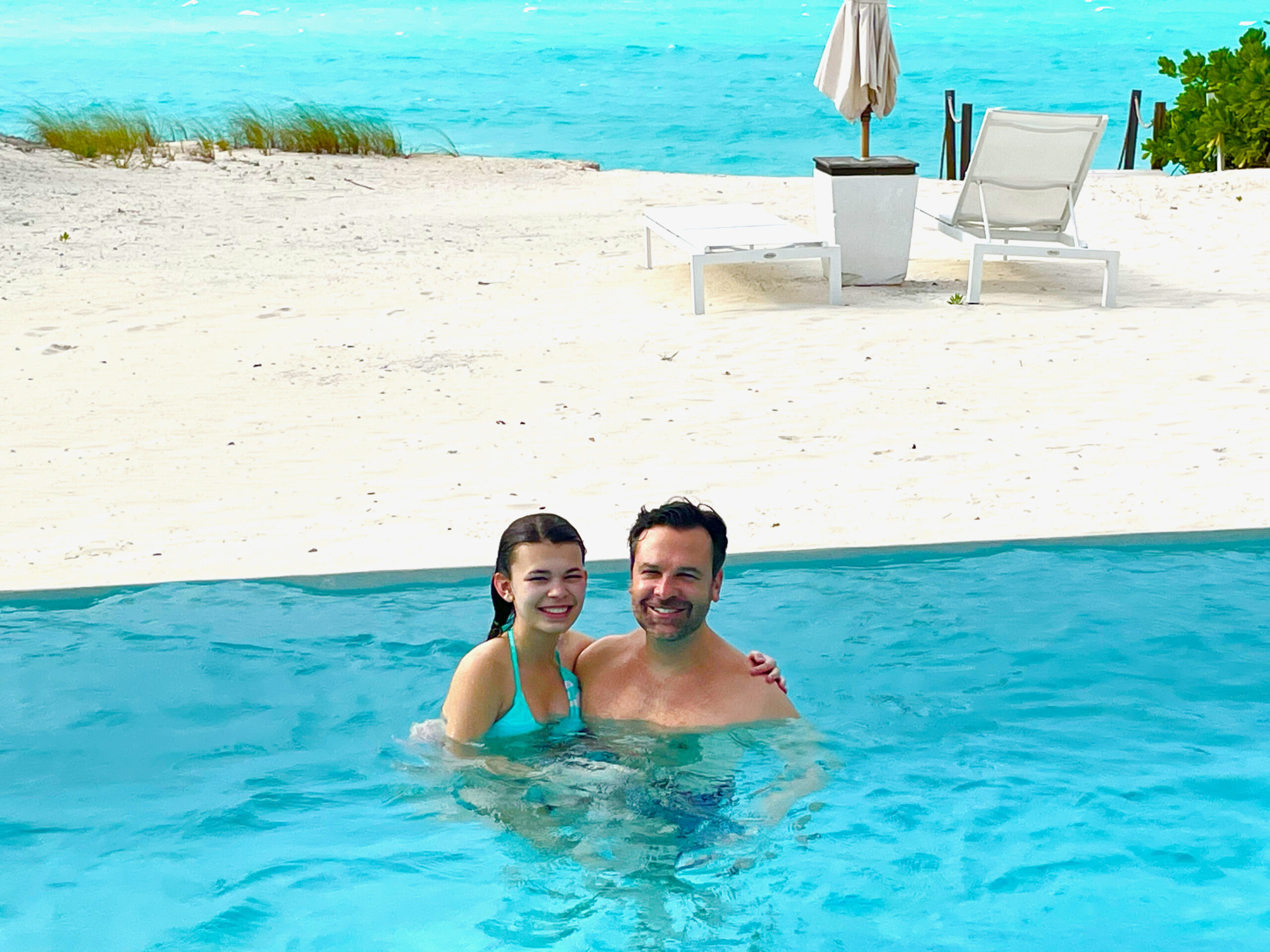 Family time at COMO Parrot Cay